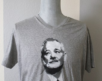 Bill Murray T-shirt Spray Painting - Made to Order