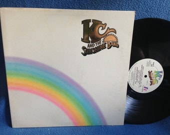 "Vintage, KC And The Sunshine Band - ""Part 3"" Vinyl LP, Record Album, Rock, Disco, Original 1976 Press, Shake Your Booty, I'm Your Boogie Man"
