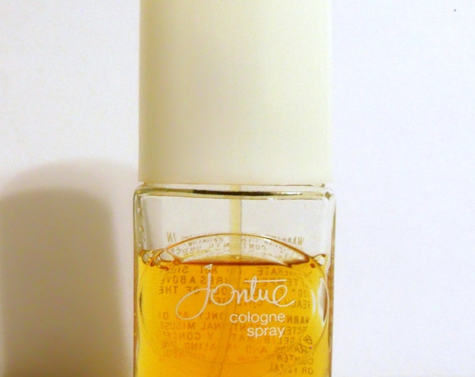 Vintage 1980s Jontue by Revlon 3/4 oz Cologne Spray ORIGINAL FORMULA PERFUME