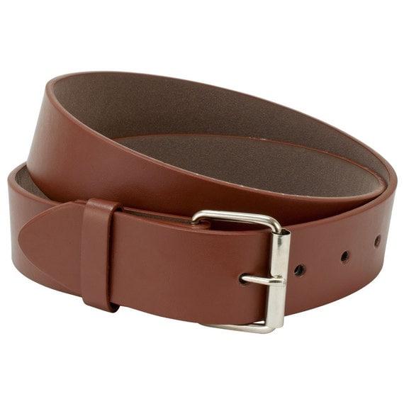 brown leather belt mens belt womens belt size large