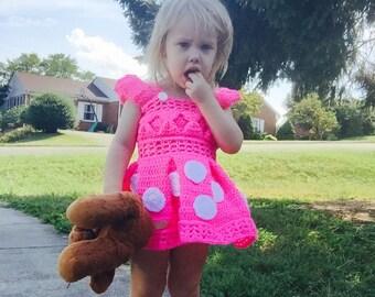 Pretty Princess Crochet Custom Dress