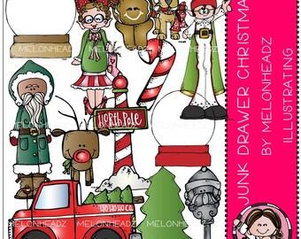 Christmas clip art - Junk Drawer