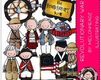 Revolutionary War clip art