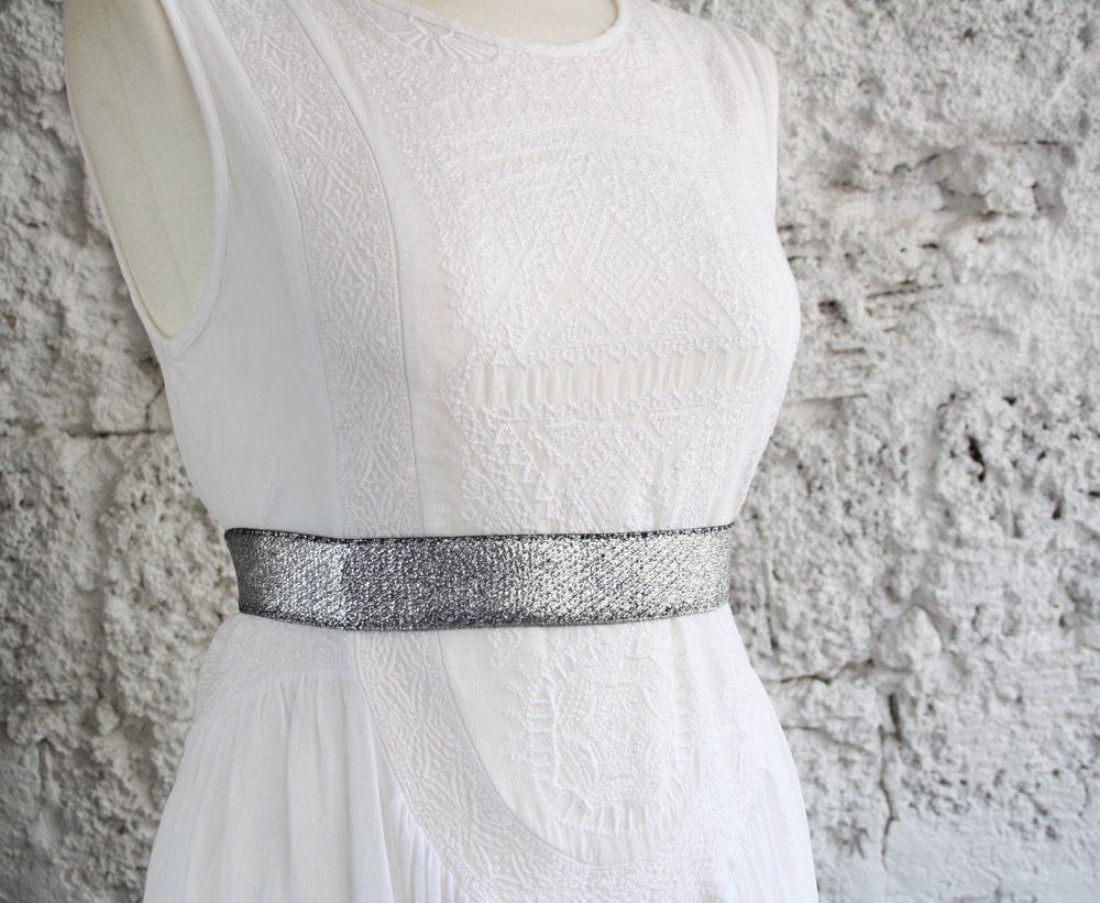 silver belt silver dress belt dress belt elastic