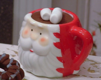Santa Mug of Hot Cocoa for American Girl Dolls