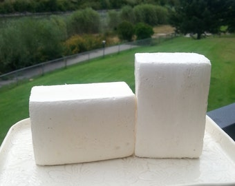 Brine soap bar with Himalayan salt scented with Avobath, spa bar