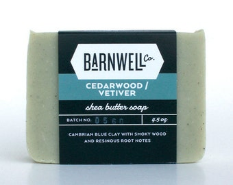 Cedarwood / Vetiver Shea Butter Soap