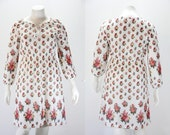 XXL Dress - XXL Vintage Floral Dress