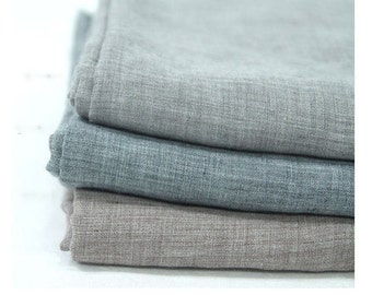 Soft Cotton Gauze Fabric, Washing Gauze, Gray Gauze, Brown Gauze - 57 Inches Wide - By the Yard 90465