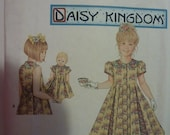 Simplicity Pattern 0601 for Girl's Dress Daisy Kingdom  Sizes 7,8,10,12  Available