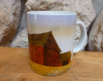H. Hargrove mug The Prairie Barn