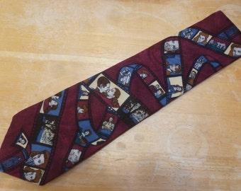 Gone with the Wind movie necktie 1992 Turner