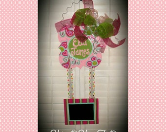 Birth Announcement Door Hanger