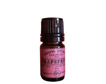 Grapefruit, Ruby Red Essential Oil, Citrus paradisi, USA - 5 ml
