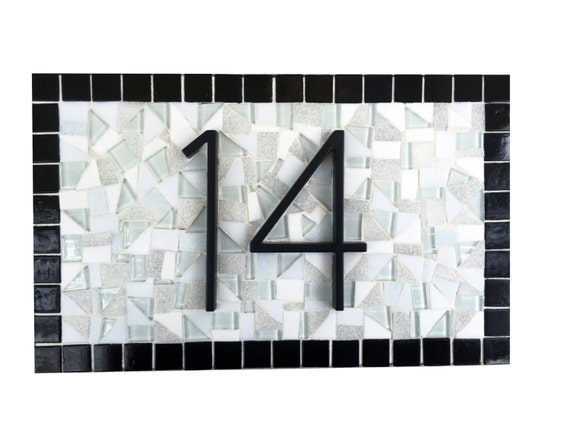 House number sign black and white minimalist address sign for Minimalist house numbers