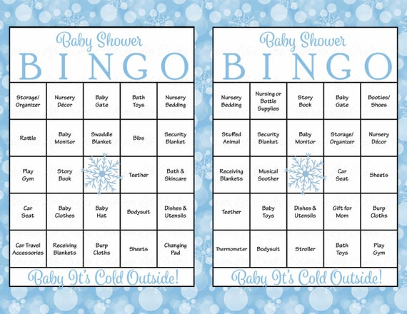 100 winter baby shower bingo cards boy baby shower games il570xn pin it solutioingenieria Gallery