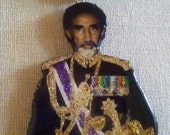 The Royal Touch Rastafari Emperor Haile Selassie I Pendant Necklace
