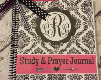 Personalized Prayer & Bible Study Journal