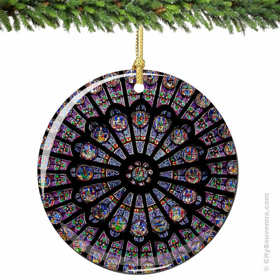 Notre Dame Christmas Ornaments