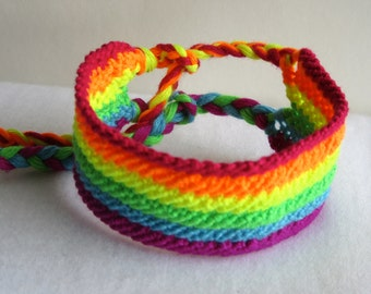 SALE!!!!! Friendship Bracelet - Rainbow