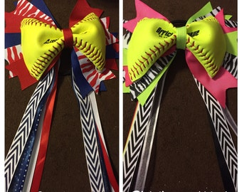 Softball bow/ specialty with shipping