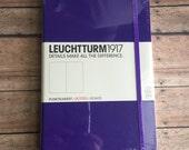Bullet Journal Notebook - Leuchtturm1917  Medium Dots Purple