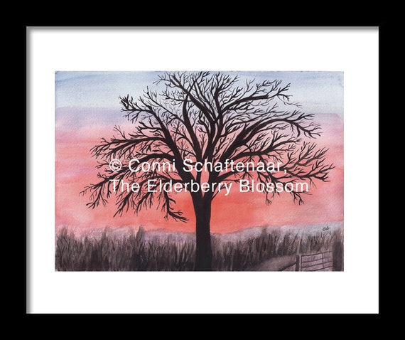 Gift Idea Instant Print Download 5x7 Print From Watercolor