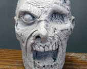 Foam Archery Zombie Head Hunting Target Also Airsoft, the Walking dead prop.