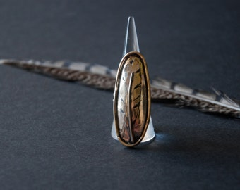 Of A Feather Ring by Heron and Lamb