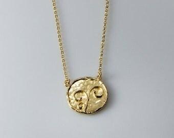 VALENTINE SALE 30% OFF Coins -Gold Necklaces Hammered Necklace Hammered Coins Necklaces coin Pendant