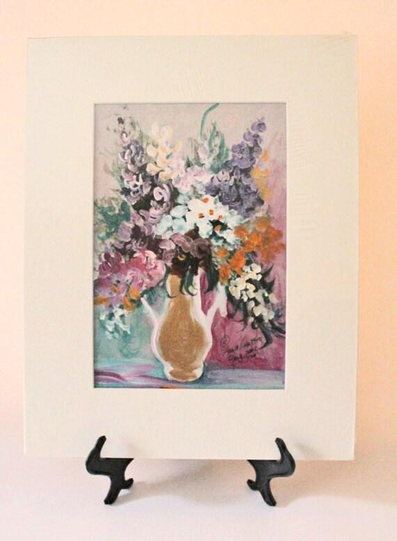 Anna Sandhu Ray Floral Acrylic Liqifex Heavy Body Painting