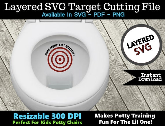 Toilet Targets Potty Training Aim Here Lil