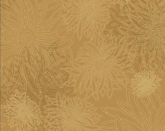 Floral Elements by Art Gallery Fabrics, Honey Mustard, FE513