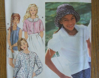 Simplicity 9074, Child's top, Girl's Top