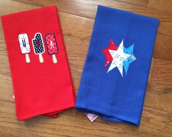Patriotic Tea Towels