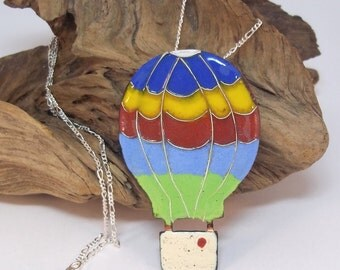 Enamelled Hot Air Ballon