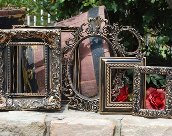 Shabby Chic PICTURE FRAMES - Set Of 6 Vintage Frame - Frame Collage - Ornate - Gallery Wall