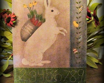 Easter Bunny Small Print - FREE SHIPPING