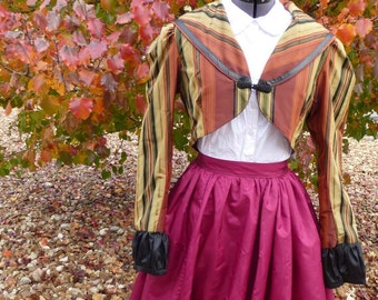 Cropped Victorian/ Steampunk Coat