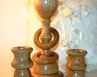 Irish Celtic Unity Candle Holder in For Wedding / Reception