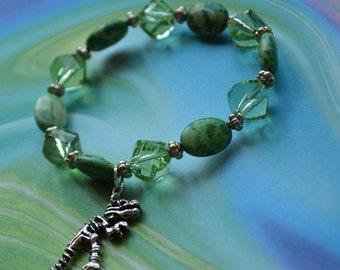 Biolojewelry - Dinosaur T-Rex Bracelet