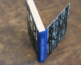 "Hollow Book Treasure Box Sherlock ""Thunder"", Recycled Book Box"
