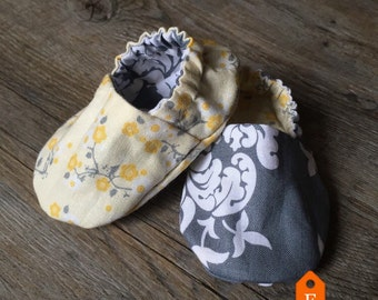 Customized Reversible Baby Girl Shoes