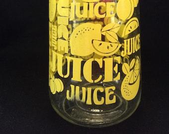 Vintage Juice Jar