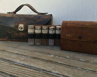 Antique Medical Traveling Medicine Show Country Doctor Field Kits (Hold for Lauren)