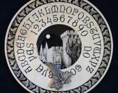 "Ouija board - Spirit board - Talking board ""Aradia"" / Any Alphabet & Free Shipping"