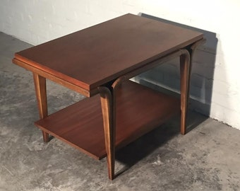 Mid-Century Modern End Table / Nightstand - SHIPPING NOT INCLUDED
