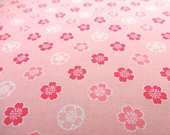 Japanese Traditional Fabric Cherry Blossoms Sakura Fat Quarter