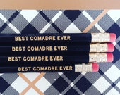 Comadre BFF Pencils set of 4