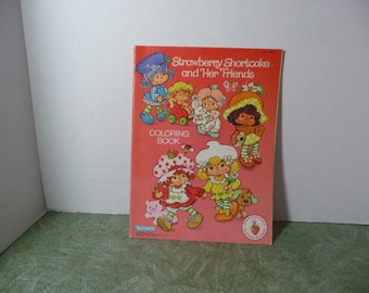 Strawberry Shortcake and her Friends  Coloring Book